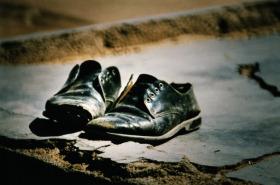 Zapatos para el pie izquierdo