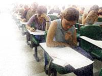 Cinco sobre exámenes